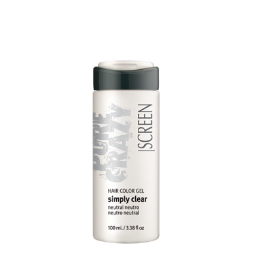 SCREEN Crazy Color Hair Color Simply Clean Gel 100ml