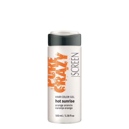 SCREEN Crazy Color Hair Color Hot Sunrise Gel 100ml