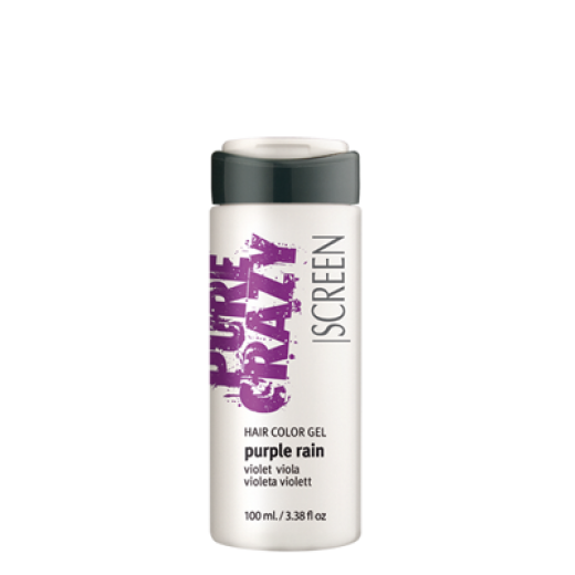 SCREEN Crazy Color Hair Color Purple Rain Gel 100ml